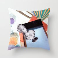 Relaxation Time-series Throw Pillow