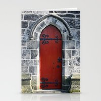 Red Door #4.2 Stationery Cards