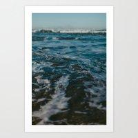 Drifting Art Print