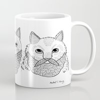 Cats With Beards Mug