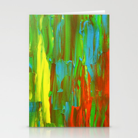 Abstract Painting 28 Stationery Card