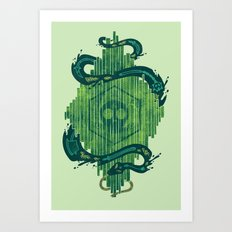 Green is the Color of Death Art Print