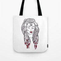 Queen Of Disaster Tote Bag