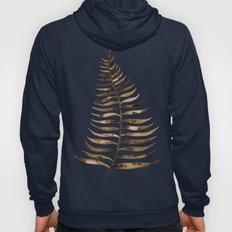Palm Leaf – Sepia Hoody
