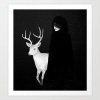 Absentia Art Print
