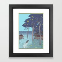Port Of Tomorrow Framed Art Print