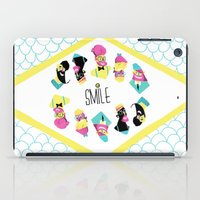 Hipster Smile iPad Case