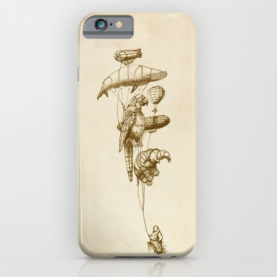 The Helium Menagerie (sepia) iPhone & iPod Case