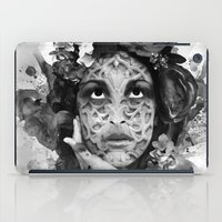 Abstract Portrait Blk/Wh… iPad Case