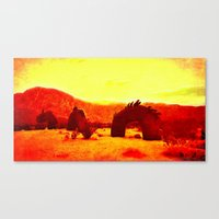 Chasing The Serpent Canvas Print