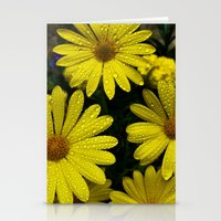 Yellow Flowers After The… Stationery Cards