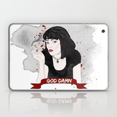 Pulp Fiction's Mia Wallace Laptop & iPad Skin