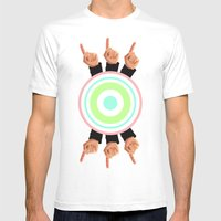 Ceilings Of Sea Foam  Mens Fitted Tee White SMALL