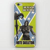Vote Skeletor iPhone & iPod Skin