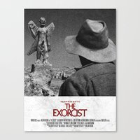 The Exorcist Canvas Print