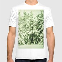 Evergreen Mens Fitted Tee White SMALL
