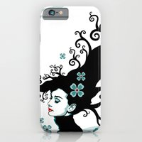 iPhone & iPod Case featuring Audrey Hepburn Natural line by TOXIC RETRO