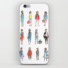 Favorite Sketches iPhone & iPod Skin