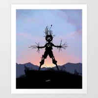 Groot Kid Art Print