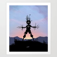 Groot Kid Art Print