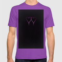 Fangs  Mens Fitted Tee Ultraviolet SMALL
