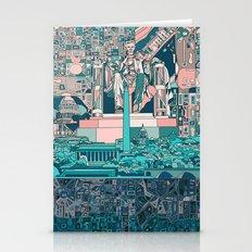Washington Dc City Skyli… Stationery Cards