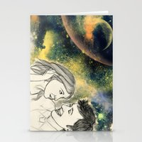 When we're together Stationery Cards