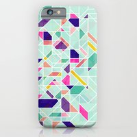 iPhone & iPod Case featuring GeoLine by AJJ ▲ Angela Jane Johnston
