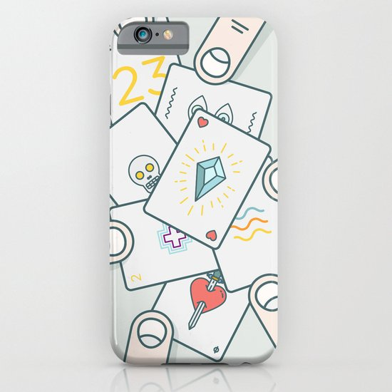 It Wasn't In the Cards iPhone & iPod Case