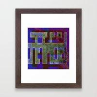 ENTRELAS Framed Art Print