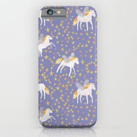 iPhone Cases featuring Pegasus by Sian Keegan