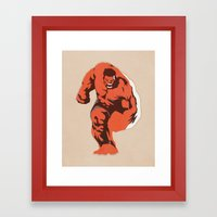 Thunderbolt Ross Framed Art Print