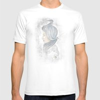 The waterfall of Subconsciousness Mens Fitted Tee White SMALL