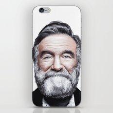 A tribute to Robin Williams iPhone & iPod Skin