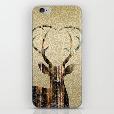 Deer Gold iPhone & iPod Skin