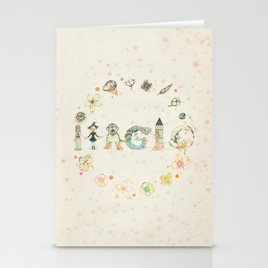 Magic Stationery Card