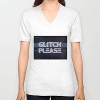 Glitch Please Unisex V-Neck