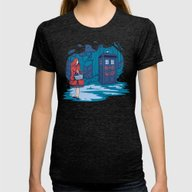 T-shirt featuring Big Bad Wolf by Karen Hallion Illust…