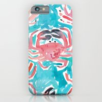 iPhone & iPod Case featuring Crabs by Barbarian | Barbra Ignatiev