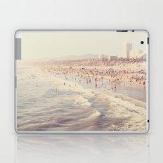 Sunny California. Santa Monica beach photograph Laptop & iPad Skin