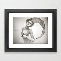 Love Dwarf Framed Art Print
