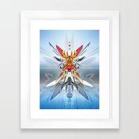 Monark Framed Art Print