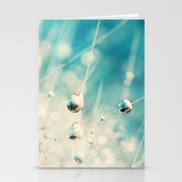 Cactus Blue Stationery Cards