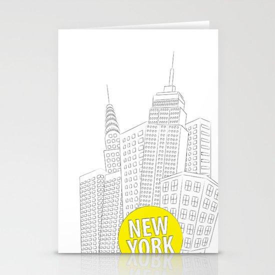 New York, New York Stationery Card