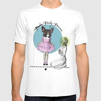 Pretty Chauncey Princess… Mens Fitted Tee White SMALL