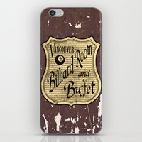 Vintage Vancouver Billia… iPhone & iPod Skin
