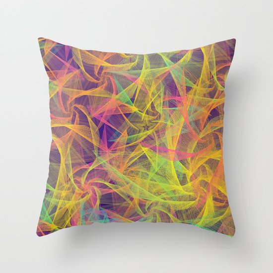 Blend Everywhere Throw Pillow