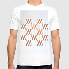 Cuadros optart White SMALL Mens Fitted Tee