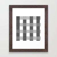 Yogi, B&W Framed Art Print