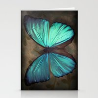 Vintage Butterfly Stationery Cards